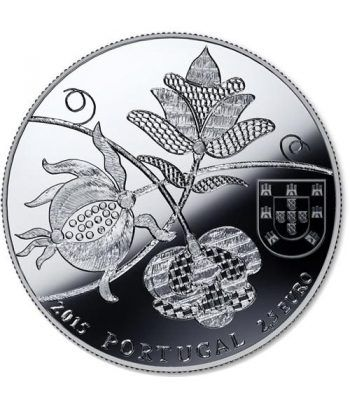 Portugal 2.5 Euros 2015 Colchas Castelo Branco.  - 1