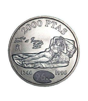 Moneda conmemorativa 2000 ptas. 1996.  Plata.  - 4