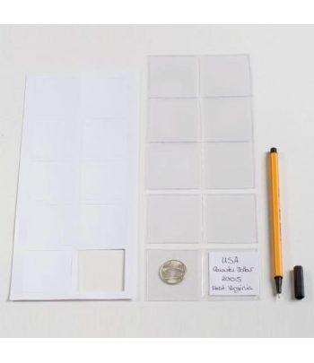 LEUCHTTURM Bolsitas para monedas hasta 42 mm. 100 unidades.  - 2