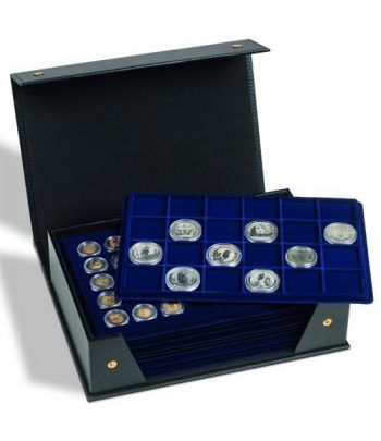 LEUCHTTURM Estuche de monedas TABLO para 10 bandejas. Vacío. Estuche Monedas - 1