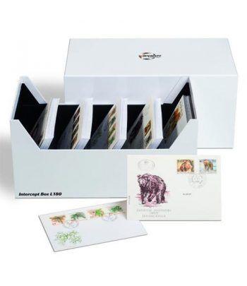 LEUCHTTURM Caja archivadora Intercept para series monedas. Estuche Monedas - 2