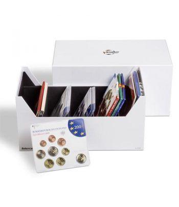 LEUCHTTURM Caja archivadora Intercept para series monedas. Estuche Monedas - 4