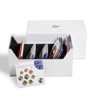 LEUCHTTURM Caja archivadora Intercept para series monedas. Estuche Monedas - 1