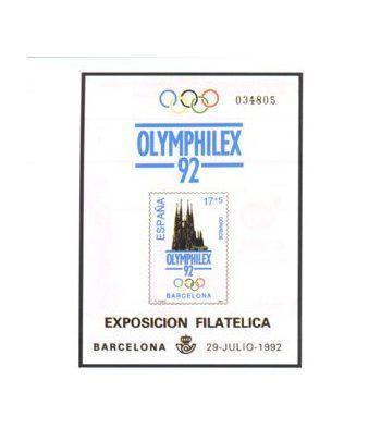 Prueba de lujo 026 Olimphilex 92  - 2