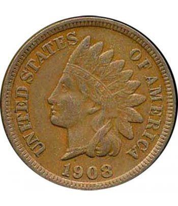 Estados Unidos moneda One Cent. Varios años. Cobre.  - 1