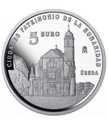 Moneda 2015 Patrimonio de la Humanidad. Úbeda. 5 euros.  - 1