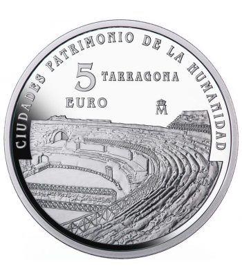 Moneda 2015 Patrimonio de la Humanidad. Tarragona. 5 euros.  - 1