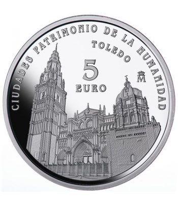 Moneda 2015 Patrimonio de la Humanidad. Toledo. 5 euros.  - 1