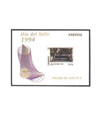 Prueba de lujo 031 Día del Sello 1994  - 2