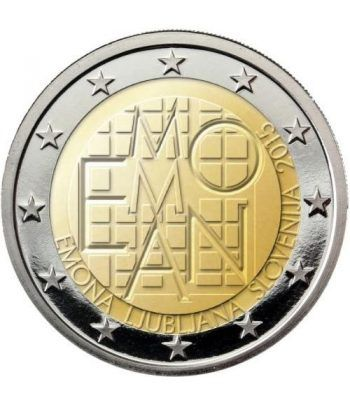 moneda conmemorativa 2 euros Eslovenia 2015.  - 2