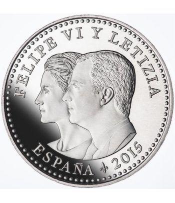 """Moneda conmemorativa 30 euros 2015. 2ª Parte de """"El Quijote"""".  - 4"""