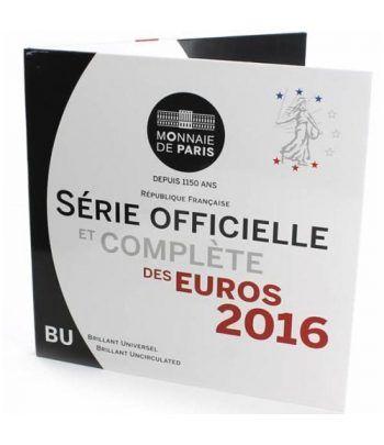 Cartera oficial euroset Francia 2016.  - 1