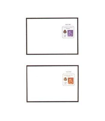 Sobre Entero Postal 001/02 Exfilna 1985  - 2