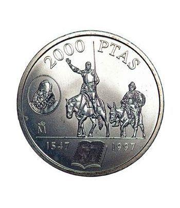 Moneda conmemorativa 2000 ptas. 1997.  Plata.  - 1
