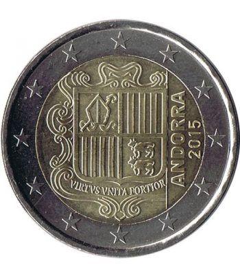 monedas euro serie Andorra 2015 (moneda de 2 euros)  - 2