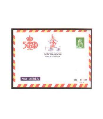 Sobre Entero Postal 007 Iberoamericana 1987  - 2