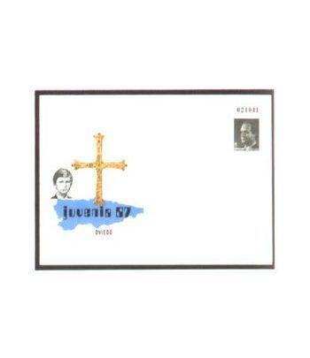 Sobre Entero Postal 009 Juvenia 1987  - 2