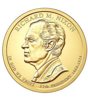 E.E.U.U. 1$ (2016) 37º Presidencial Richard M. Nixon (2cecas)  - 2