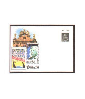 Sobre Entero Postal 010B Exfilna 1988  - 2