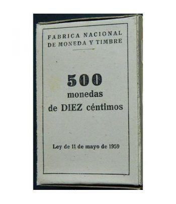 Caja con 500 monedas de DIEZ 10 centimos 1959  - 4