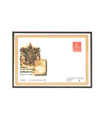Sobre Entero Postal 013 Exfilna 1989  - 2