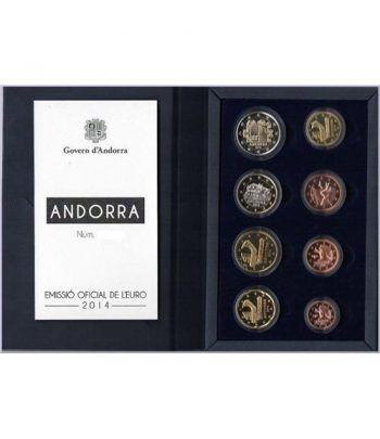 Monedas Euroset Andorra 2014. Proof.  - 2