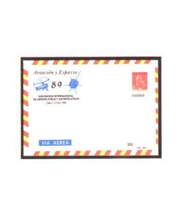 Sobre Entero Postal 014 Aviacion y espacio 1989  - 2