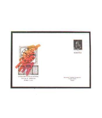 Sobre Entero Postal 015 Exfilna 1990  - 2