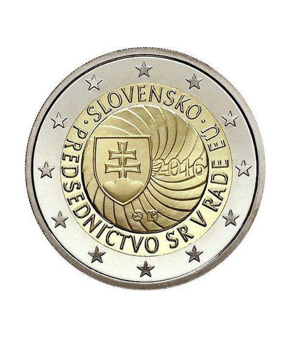 moneda conmemorativa 2 euros Eslovaquia 2016.  - 2