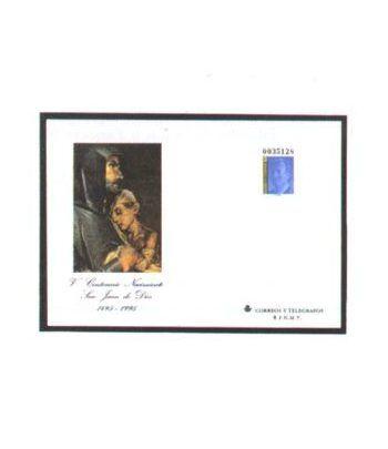 Sobre Entero Postal 031 San Juan de Dios 1996  - 2