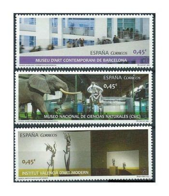 5034/36 Museos. MNCC, MACBA e IVAM  - 2