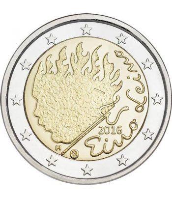 moneda conmemorativa 2 euros Finlandia 2016 Eino Leino  - 2