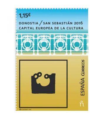 5048 San Sebastián, Capital Europea Cultura 2016.  - 2