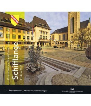 Cartera oficial euroset Luxemburgo 2016 (incluye 2€ conmemorat)  - 1