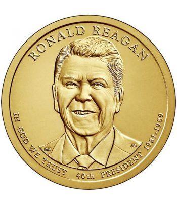 E.E.U.U. 1$ (2016) 40º Presidencial Ronald Reagan (2cecas)  - 2