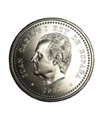 Moneda conmemorativa 2000 ptas. 2000. Plata.  - 2