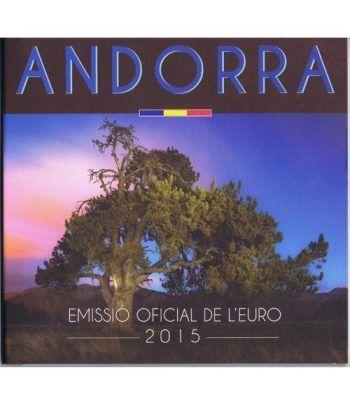 Monedas Euroset Andorra 2015  - 1