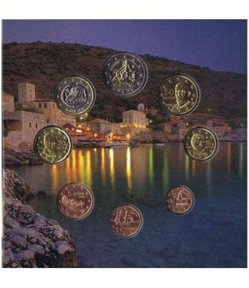 Euroset oficial de Grecia 2016 dedicada al Peloponeso  - 2