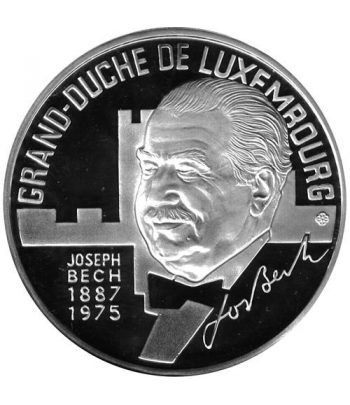 Moneda de plata 25 Ecu Luxemburgo 1993 Gran Duque.  - 1