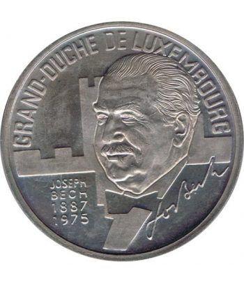 Moneda 5 Ecu Luxemburgo 1993 Gran Duque. Cuproníquel.  - 4
