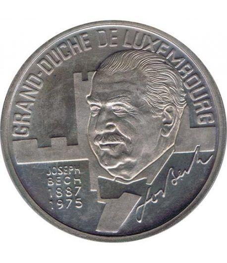 Moneda 5 Ecu Luxemburgo 1993 Gran Duque. Cuproníquel.  - 1