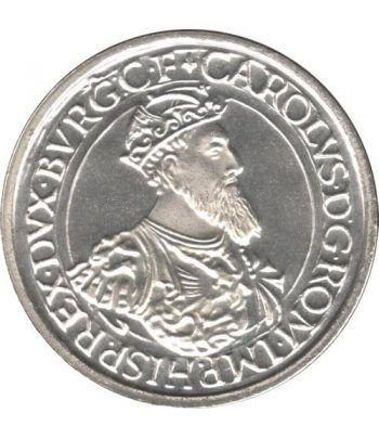 Moneda de plata 5 Ecus Belgica 1987.  - 4