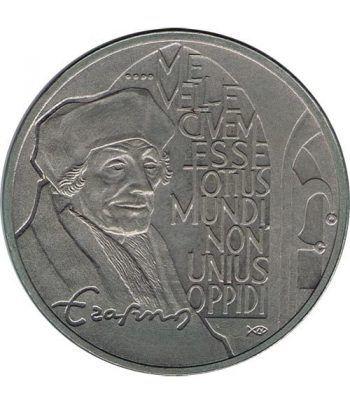 Moneda 2.5 ECU de Holanda 1991 Erasmus. Níquel.  - 1