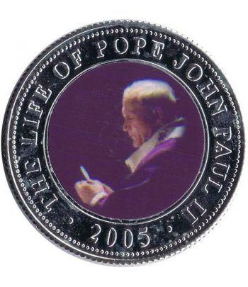 Republica Somalia 250 Shilling 2005. Papa Juan Pablo II. nº10  - 1