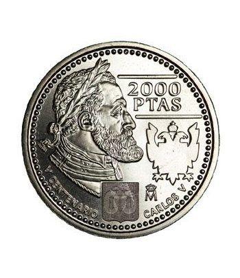 Moneda conmemorativa 2000 ptas. 2000. Plata.  - 4