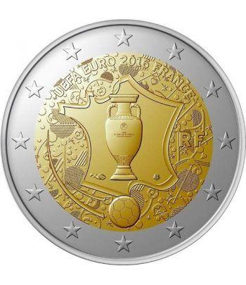 moneda conmemorativa 2 euros Francia 2016 UEFA  - 2