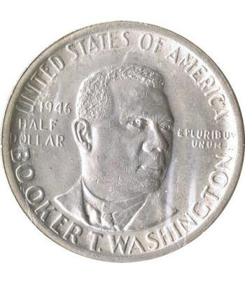 Moneda de plata 1/2 $ Estados Unidos Washington 1946 S.  - 1