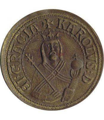 medalla Karolus romanorum et boemie rex  - 1