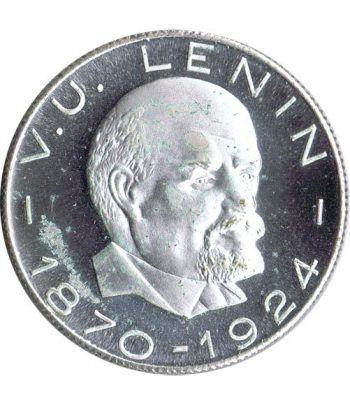 Medalla V.U. Lenin 1870-1924. Cuproníquel.  - 1