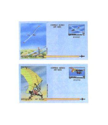 Aerograma 209/210 Año 1985  - 2